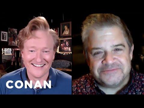 #CONAN: Patton Oswalt Full Interview - CONAN on TBS