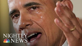 Tearful President Obama Unveils Executive Action on Guns | NBC Nightly News