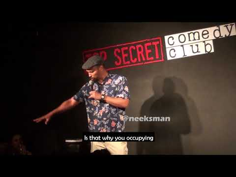 Comedian BANTERS With Israeli Lady | Nico Yearwood | Bajan Comedian
