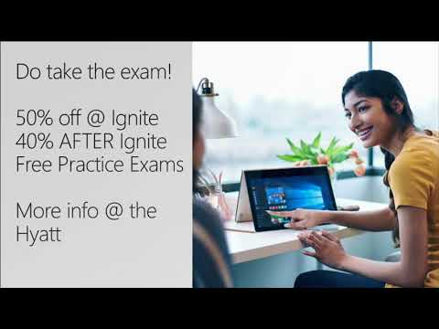 Cert Exam Prep: Exam 70-532: Developing Azure Solutions - BRK3166