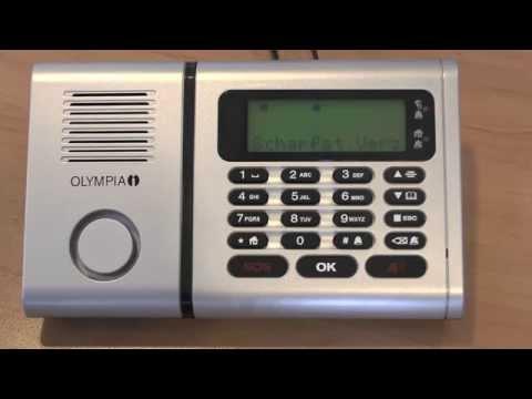Produktvorstellung: Funk-Alarmanlagen-Set Olympia Protect 6030 (Pollin Artnr.: 580283))