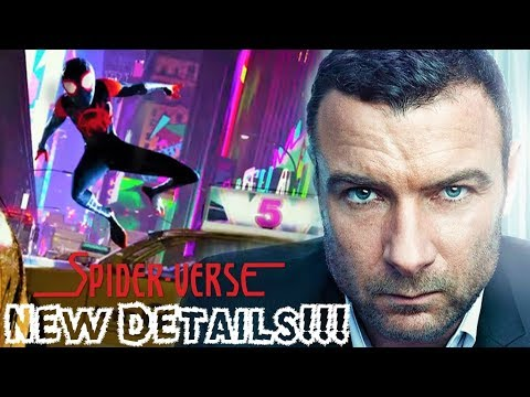 Liev Schreiber Unveils New Details for SpiderMan: Into The SpiderVerse