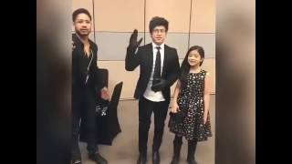 REZA OKTOVIAN 'DANCE BATTLE' With RANZ KYLE & NIANA GUERRERO