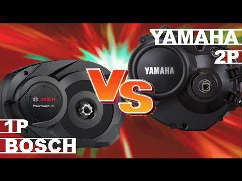 Yamaha vs Bosch Mid Drive Electric Motor
