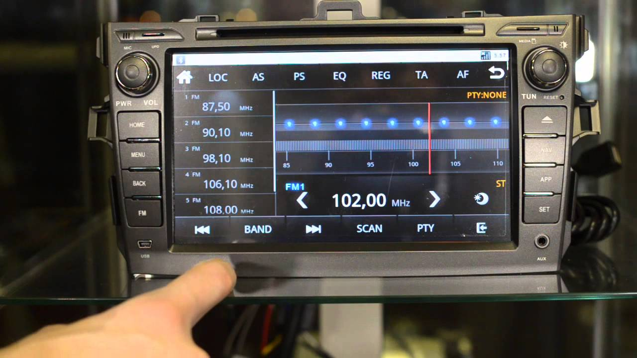 магнитола для тойота камри v40