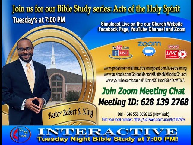 06-29-2021 - Golden Memorial Live Stream with Pastor Robert S. King