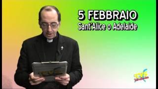 Santo del Giorno - 5 Febbraio - Sant'Agata e Sant'Alice