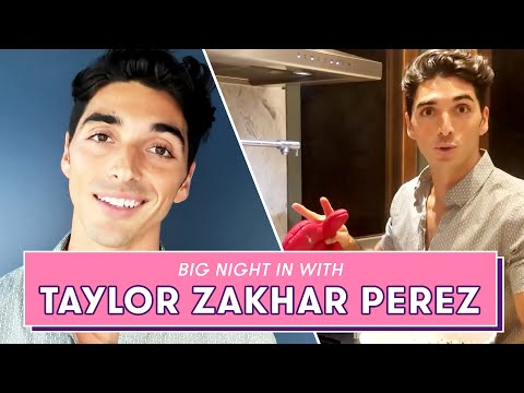 The Kissing Booth 2's TAYLOR ZAKHAR PEREZ has you over for Movie Night | Big Night In