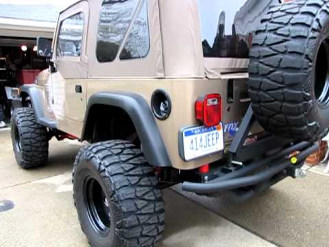 "Lifted Jeeps For Sale >> 1999 Jeep Wrangler ""HEMI"" dog attack! Detroit Michigan ..."