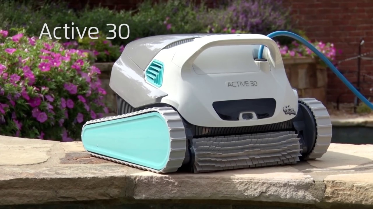 Dolphin Active 30 Robotic Pool Cleaner By Maytronics Youtube
