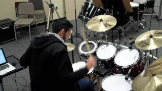 Repeat youtube video La Cometa/El Pachuco - Fievre Looka (Bateria/Drum Cover)