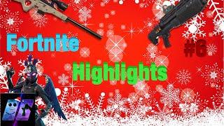 Fortnite Faits saillants #6 saison 6 Bass Boosted (Musique de Noel) - EPIC SNIPE!