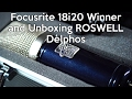Focusrite 18i20 Winner and Unboxing Roswell Delphos | SpectreSoundStudios