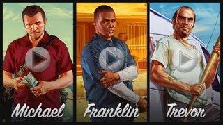 Video Grand Theft Auto V: All 3 Brand NEW Trailers! Michael, Franklin, Trevor (Trailers 3, 4, 5) download MP3, 3GP, MP4, WEBM, AVI, FLV Januari 2018