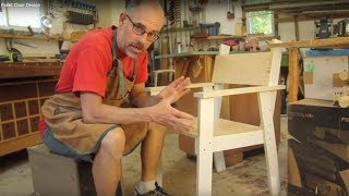 Rob Brown, editor of Canadian Woodworking & Home Improvement Magazine talks about the design of his Kids Pallet Chair. Read