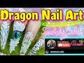 Dragon Nail Art Collab. #thespotlightcollabchallenge #naildesign #3dnailart