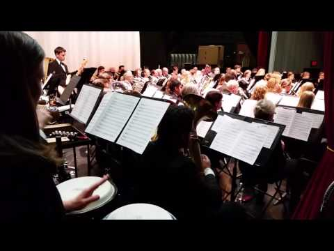 02-28-16 Seis Manuel by the Arlington Heights Community Concert Band