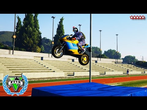 GTA 5 Online Winter OLYMPIC GAMES - GTA 5 Funny Moments - GTA V Olympic Games (GTA First Person)