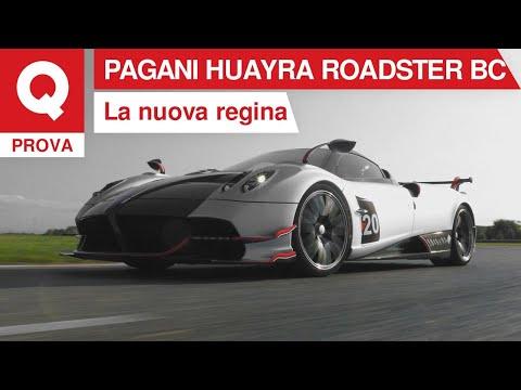 Pagani Huayra Roadster BC: la prova vista da Horacio