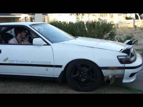 Toyota Celica ST165 GT4 gt35 cams side exhaust sound by gt4