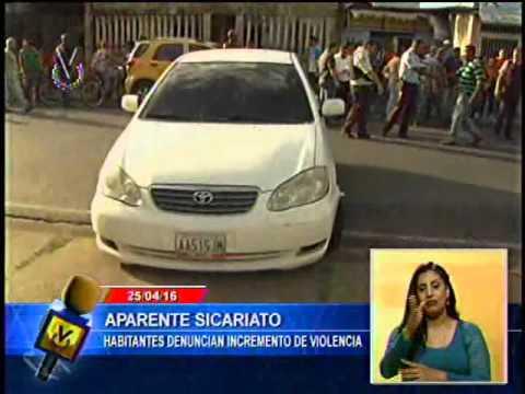 Hombre asesinado cuando se trasladaba en su vehículo en Tucupita