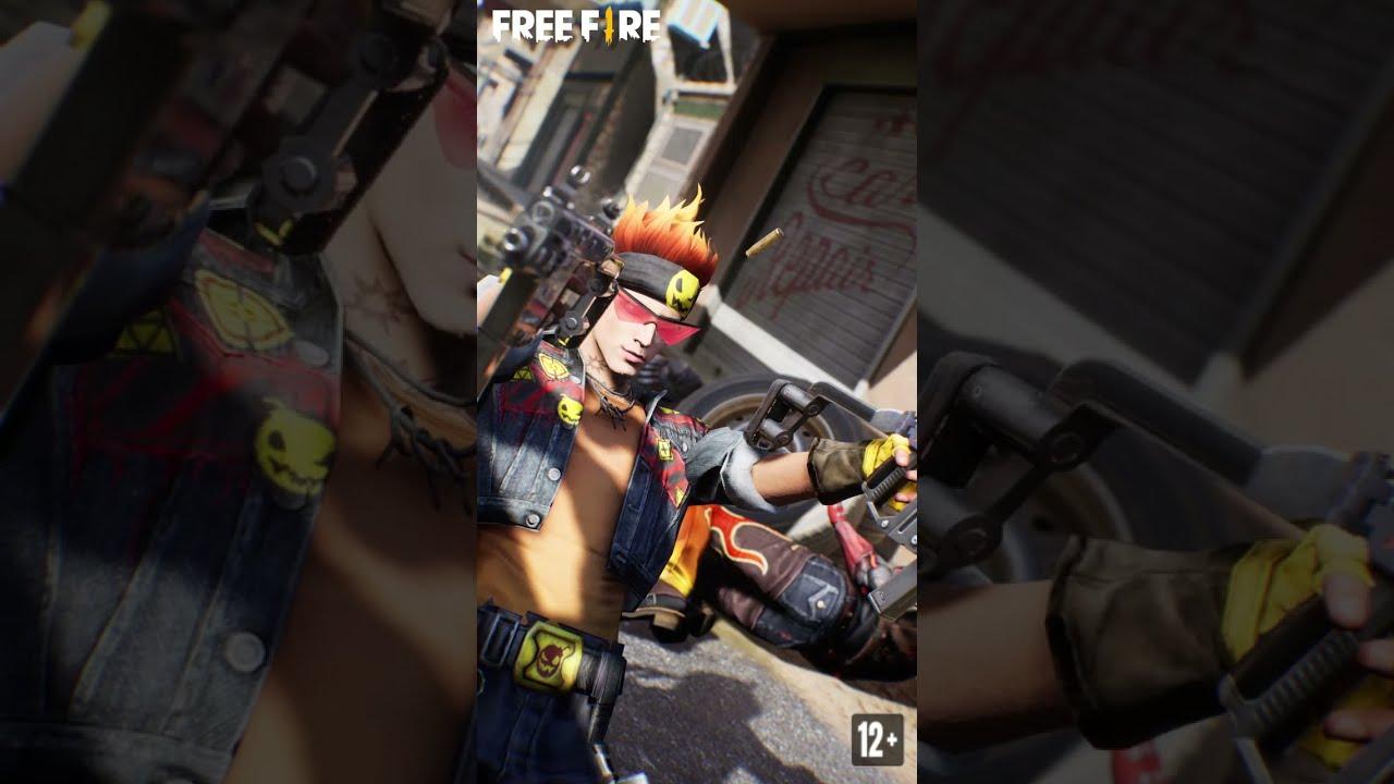 Alvaro With Double Vector Gun | Garena Free Fire