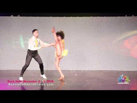 Jacob & Selena, Aventura Dance Cruise Miami 2017 - World's Largest Latin Dance Cruise
