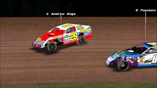rFactor; Dirt Track Racing Action #2