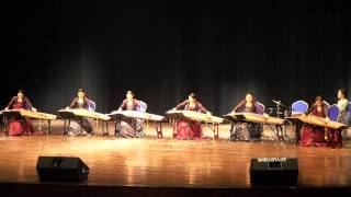 Sookmyung Gayageum Korean Orchestra [rivers Crew] - Segment 1