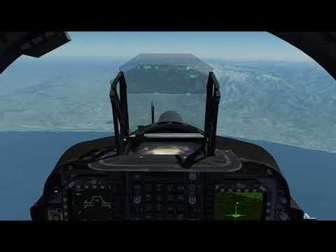 How to Lase Using the TGP in The AV8B DCS Open beta