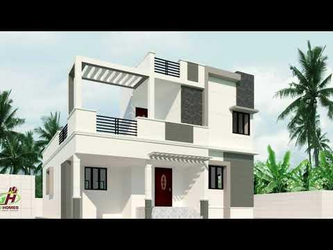Modern 3D Elevations   Contemporary 3D Elevations   Design By GIRI Homes Kumbakonam