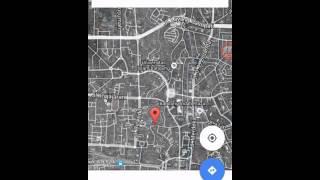 cara mencari alamat di google maps android