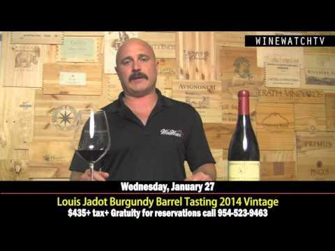 Louis Jadot Burgundy Barrel Tasting 2014 Vintage - click image for video