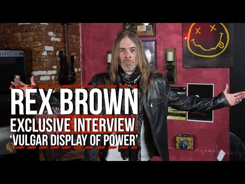 Rex Brown on 25th Anniversary of Pantera