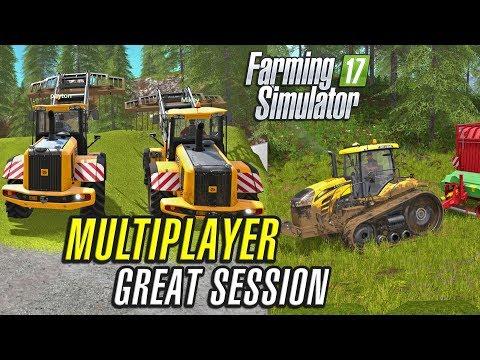 MULTIPLAYER FICHTELBERG | Farming Simulator 2017 | Ep3