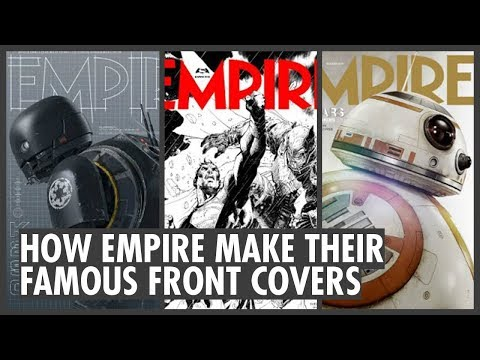 Empire Magazine: How They Make The Famous Front Covers