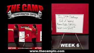 South Fort Worth TX Weight Loss Fitness 6 Week Challenge Results - Kate S.