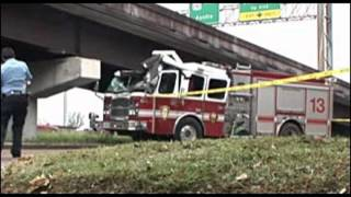 Unbelievable FireTruck Accidents, FIRE Trucks crash while responding
