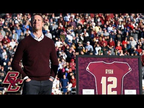 Matt Ryan Has Jersey Retired by Boston College
