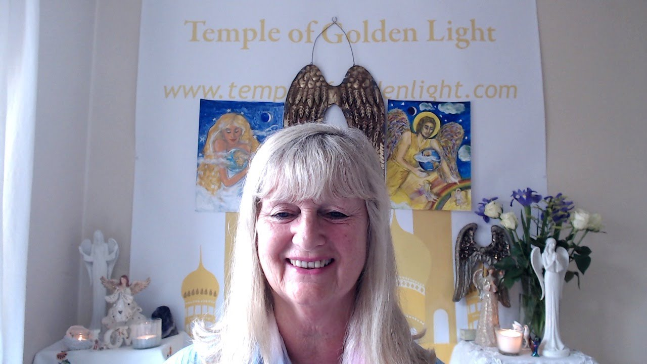 Linda with Mother Mary and her Legions of Angels