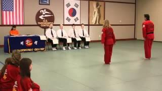 U.S. Open Taekwondo Hanmadang-Team Traditional Forms (2012)