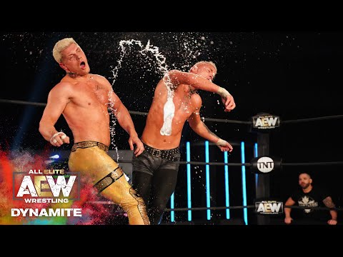 WHO MOVED INTO THE FINALS - CODY OR DARBY ALLIN? | AEW DYNAMITE 4/29/20