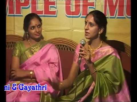 The Ranjani  Gayatri Interview
