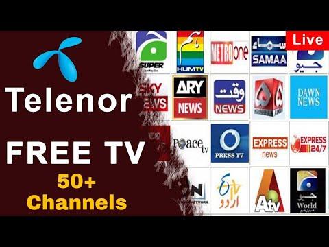 Telenor Free Tv Application 100 Free Working 2019 Youtube