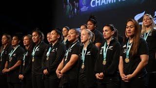 Celebration for World Cup winning Black Ferns