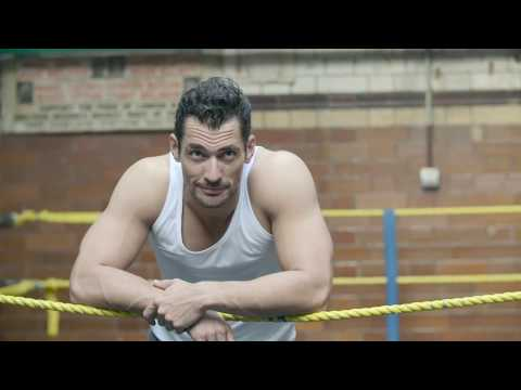 Come behind the scenes with David Gandy