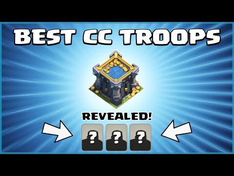 BEST TH12 CC TROOPS - TOP 5 Clan Castle Troops For DEFENSE! - Clash Of Clans