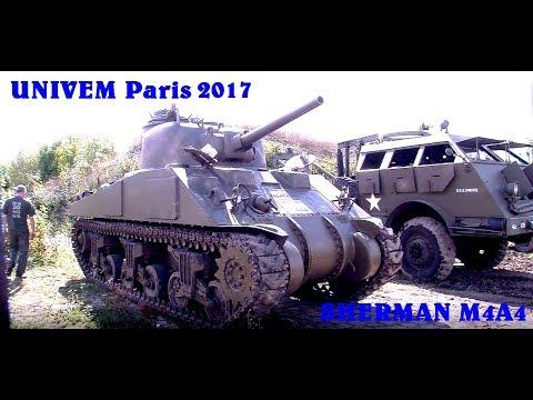 UNIVEM Paris Journées du patrimoine 2017 -Shériff- Sherman M4A4 -