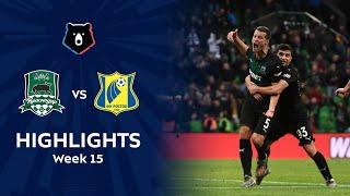 Highlights FC Krasnodar vs FC Rostov (2-2)