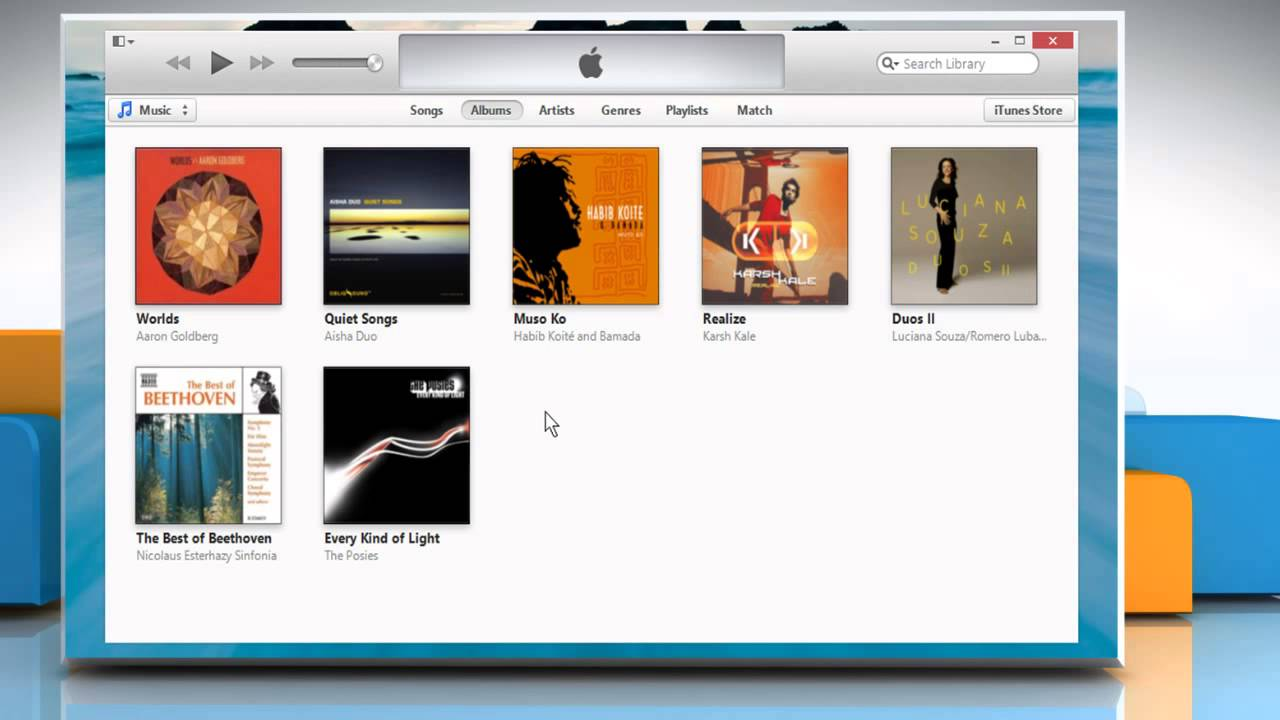 how to show menu bar in itunes 11 mac